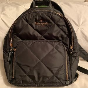 Kate spade medium quilted backpack
